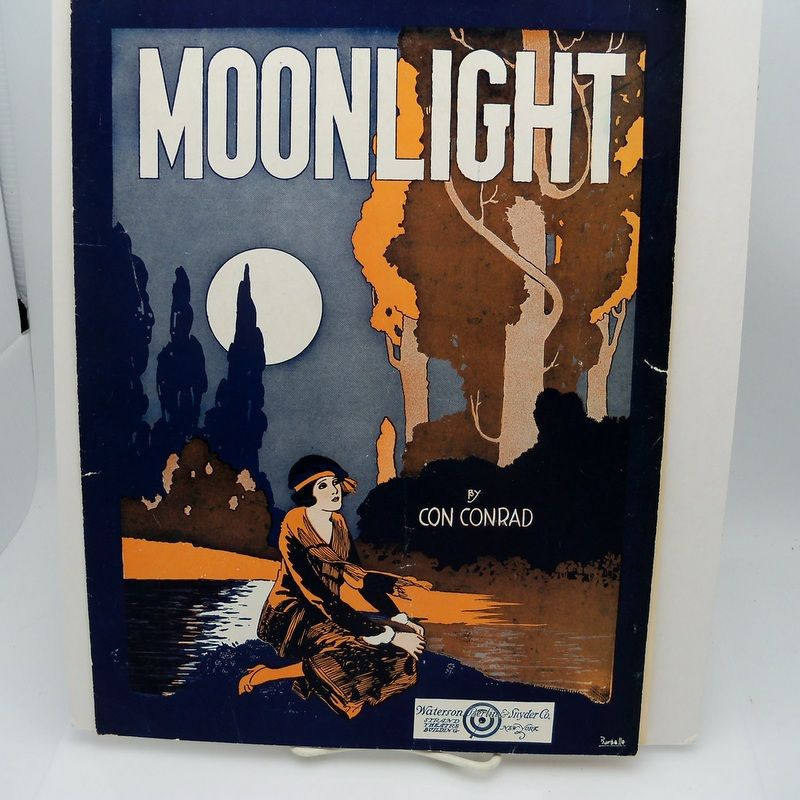 "Sheet Music ""Moonlight"""