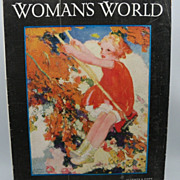Woman's World Magazine June 1930 issue Little Girl on Swing