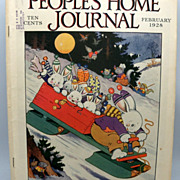 "Magazine ""People's Home Journal"" February 1928"