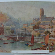 Tuck's Oilette Postcards Torquay Series