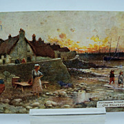 Tuck's Oilette Postcard Picturesque Counties Series  Somersetshire