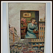 Advertising Postcard Bell Telephone