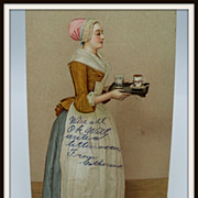 Advertising Postcard Chocolate