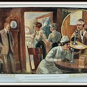 Advertising Postcard Bell Telephone  &quot;A Doctor Quick&quot;