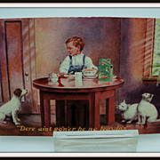 Advertising Postcard Egg O See Cereal