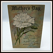 Mother's Day Greeting Postcard
