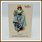SALE PENDING Advertising Postcard The Bontex Girl