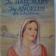 "Devotional Book ""The Hail Mary and The Angelus"" for Children"