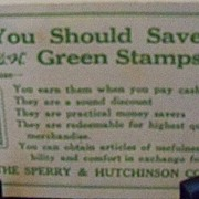 Advertising Giveaway S & H Green Stamps Needle Pack