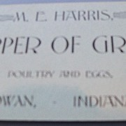 Indiana Grain Shipper Business Card