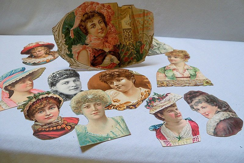 Victorian Scraps of Lovely Ladies