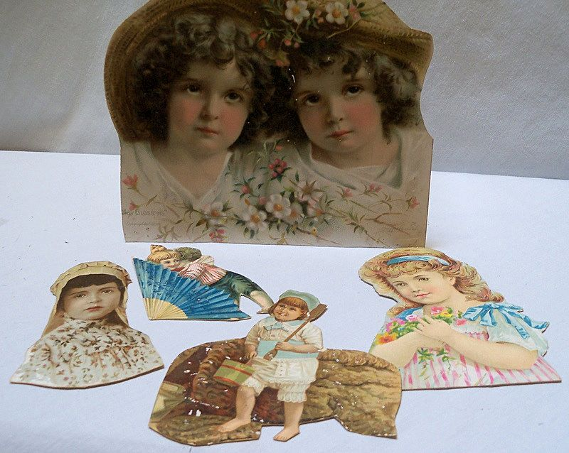 Victorian Scraps of Adorable Children
