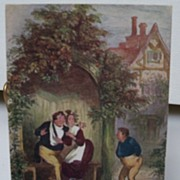 "Postcard Tuck's Oilette ""In Dickens Land"" The Pickwick Papers"