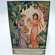 SALE PENDING The Flower Gatherers by Jennie Harbour Postcard