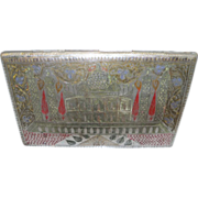 Indian Silver Cigarette Carrying Case