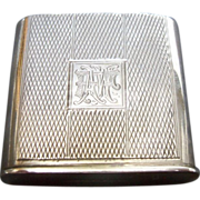 American Sterling Match Holder