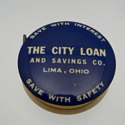 "Flat Metal Measuring Tape ""Loan company"""