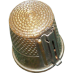 Brass Gadget Thimble &quot;Thread Cutter&quot;