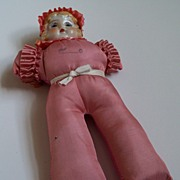 Pincushion Girl Doll All in Pink