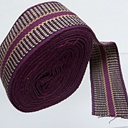 Multi color ribbon trim