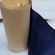 All Silk  Navy Blue Taffeta Ribbon