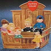 Three Dimensional Cupids Court Valentine