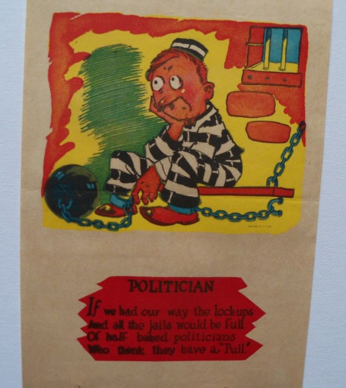 "Vinegar Valentine ""Politician"""