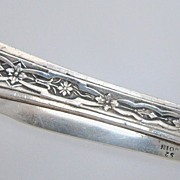 Victorian Coin Silver Ladies Fruit Knife