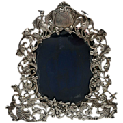 English Sterling Art Nouveau Picture Frame