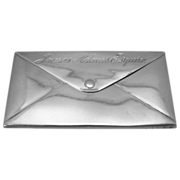 Tiny English Sterling Envelope Case