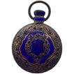 Victorian Cobalt Glass Whimsey Pocket Watch