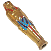 Retractable Enamelled Pencil Egyptian Man