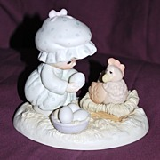 "Precious Moments Figurine ""Eggspecially For You"""