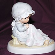 "Precious Moments Figurine ""Love Covers All"""