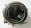 Schneider Angulon Wide Angle Lens and Shutter