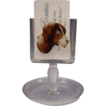 Wonderful  DOG Crystal  Card Holder /Cigarette Holder