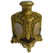 Magnificent  BIG Grand Tour Ruby Scent Bottle &quot;Five Miniatures&quot;