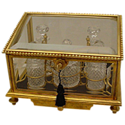 "SALE Grandest  Antique Baccarat Scent Casket ""LARGE"""