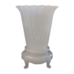 "Gorgeous Antique French Opaline Vase ""Matching  Base"""