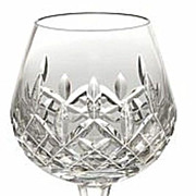1   Waterford Lismore   Brandy Glass 12 Oz    5  H