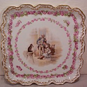SALE Vintage Square Limoges Dresser Tray