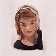 1964 Jackie Kennedy Head Vase Inarco E-1852