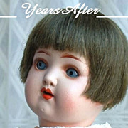SOLD HEUBACH KOPPELSDORF German Bisque Art Deco Doll Original Wig, Open Mouth, Teeth, Sleep Ey