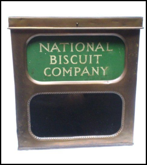 Vintage National Biscuit Company Store Counter Display Tin