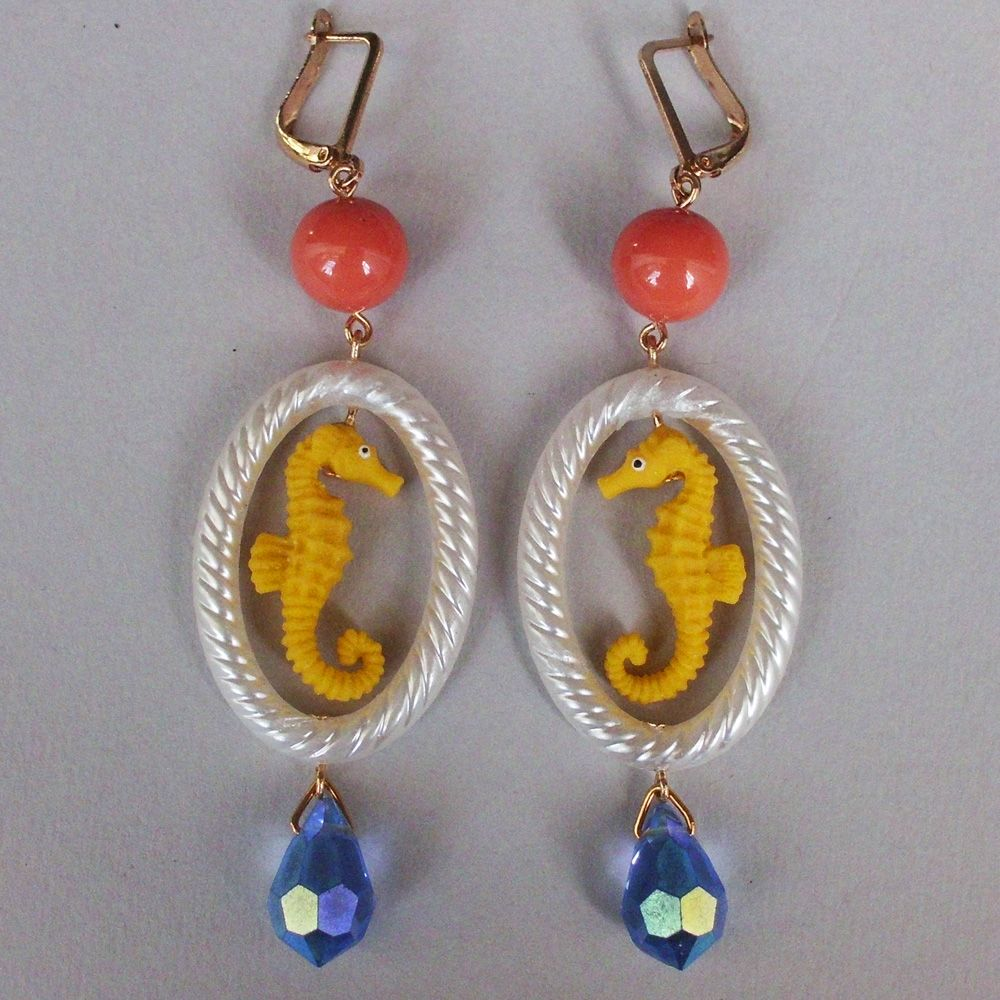 High end fashion jewelry design whimsical rubber earrings for High end fashion jewelry
