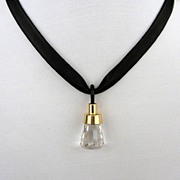Designer jewelry. Contemporary necklace design for all occasions. Upscale crystal pendant with