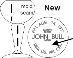 John Bull Eye Cups