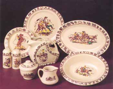 Old China Patterns cowboy china: old patterns copied