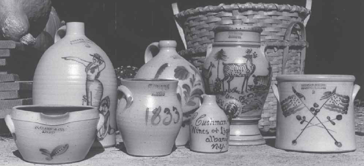 Reproductions of New York Stoneware