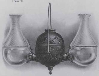 Angle Lamp Glass